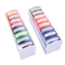 16pcs Creative Plastic Environmental Funny Remark Stamper Encouraged Stamp Remark Seal for Teacher School Kid