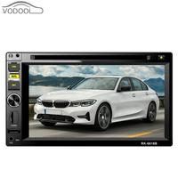 6.2 Inch Automagnitol Touch Screen 2 DIN Car Radio Car Stereo DVD Player Steering Wheel Control FM Radio BT TF USB AUX