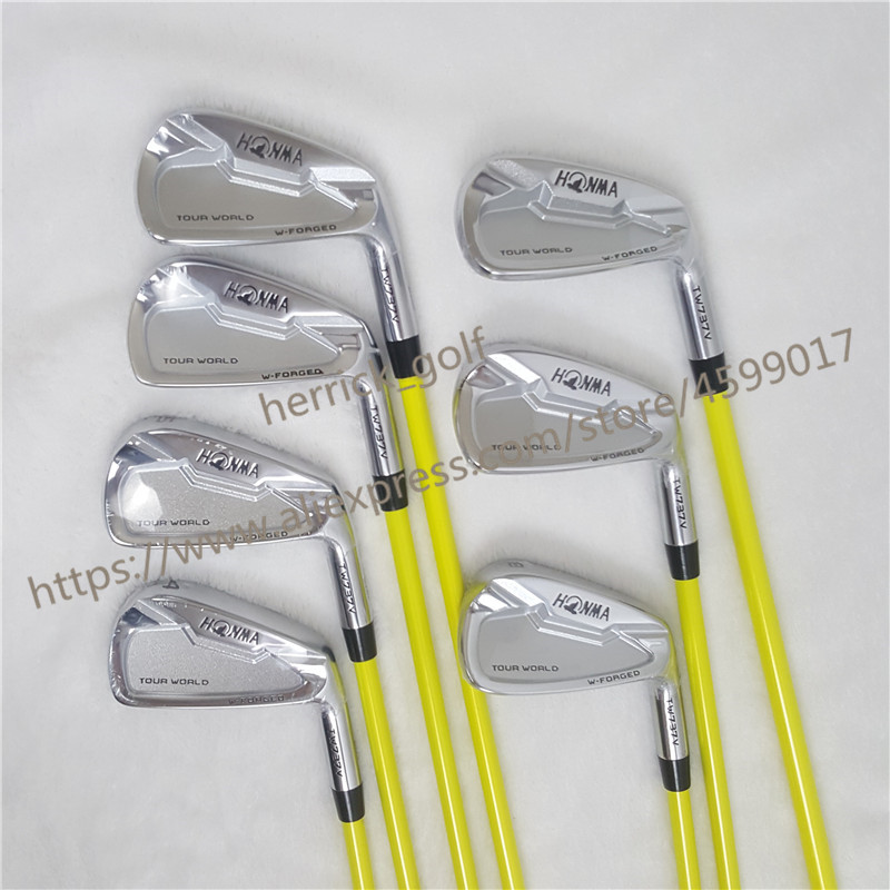 Golf Clubs Irons Set HONMA TW737V Golf Iron Set 4-9 10 Clubs NS.PRO Steel Graphite Golf Shaft R/S Flex Free Shipping