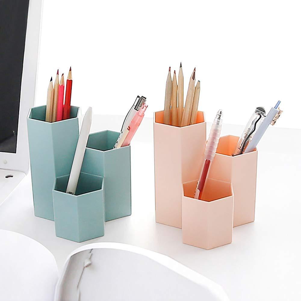 Контейнер для ручек, настольный пластиковый держатель для ручек для гелевых ручек, карандаши, маркеры, 3 упаковки