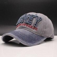 oZyc 2019 New Men'S Cap Washed Baseball Caps For Men Streetwear Women Dad Hat Snapback Embroidery Casual Casquette Hip Hop Cap цена