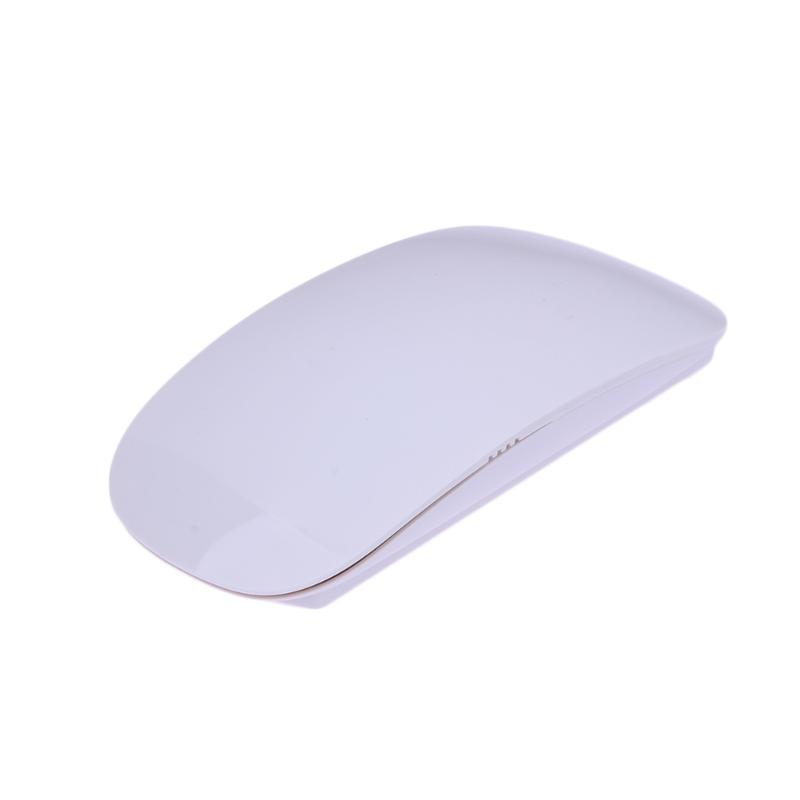 USB Wireless Mouse For Apple Laptop PC 800/1000/1200 DPI Slim Optical Wireless Magic Mouse Computer Mice With USB Receiver