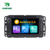 Android 9.0 Core PX6 A72 Ram 4G Rom 64G Car DVD GPS Multimedia Player Car Stereo For GMC Chevrolet Tahoe radio headunit