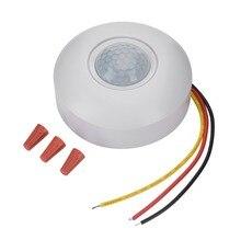12V Infrarot PIR Motion Sensor Schalter mit Zeit Verzögerung 360 Grad Kegel Winkel Erkennung Induktion Sensor Für LED Decke licht