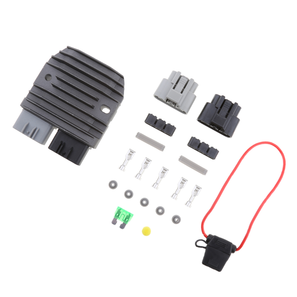 US $21 74 21% OFF|MOTORCYCLE REGULATOR & UPGRADE KIT FOR SHINDENGEN MOSFET  FH020AA a universal regulator/rectifier kit charging system upgrade kit-in