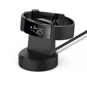 Image 1 - Universal Magnetic Charging Dock USB Ladegerät Cradle Dock Für Fitbit Inspire HR/Inspire 51x46x13mm ABS + PC 2019 Neue