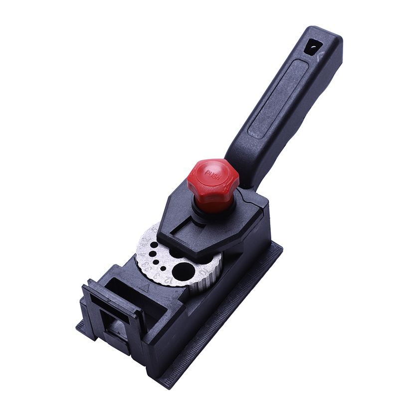 New 38PCS Woodworking Drilling Locator Guide Wood Dowel Hole Drilling Guide Jig Drill Bit Kit Woodworking Carpentry Positioner