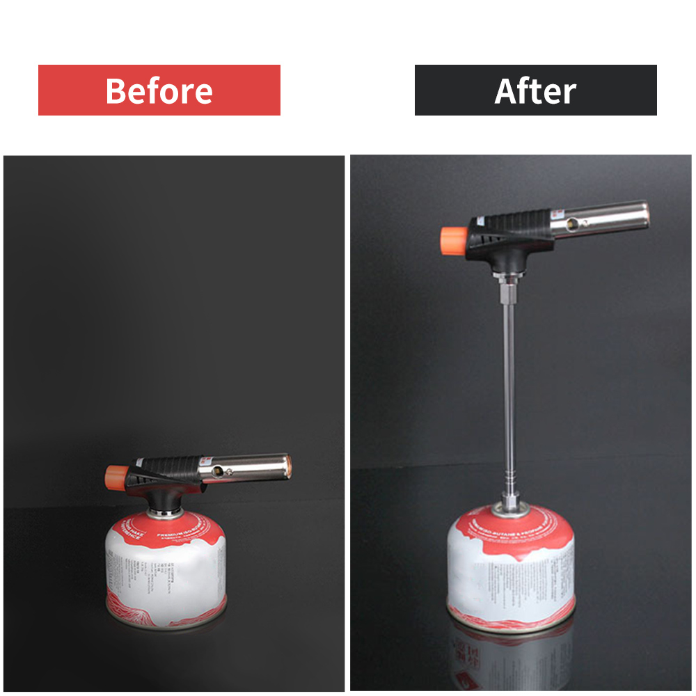 Gas Lantern Extension Tube Blow Torch Extender Pole Camping Lamp Extension Rod Cooking Stove Gas Tank Converter Extension Rod Superior Materials Camping & Hiking Campcookingsupplies
