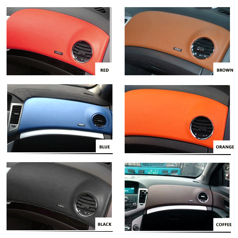 Image 5 - Microfiber Leather Interior Car Styling Door Armrest / Center Dashboard Panel Covers Trim For Chevrolet Classic Cruze 2009 2015-in Interior Mouldings from Automobiles & Motorcycles