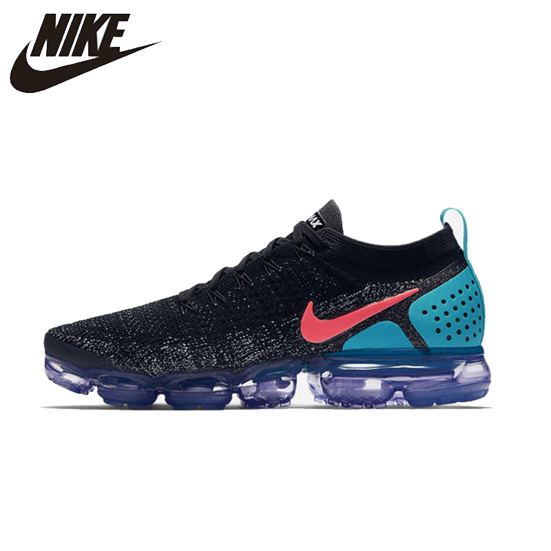 NIKE Mens Air Vapor Max 2.0 FLYKNIT AIR MAX Cushion Running Shoes Official Super Light Sneakers#942842-003