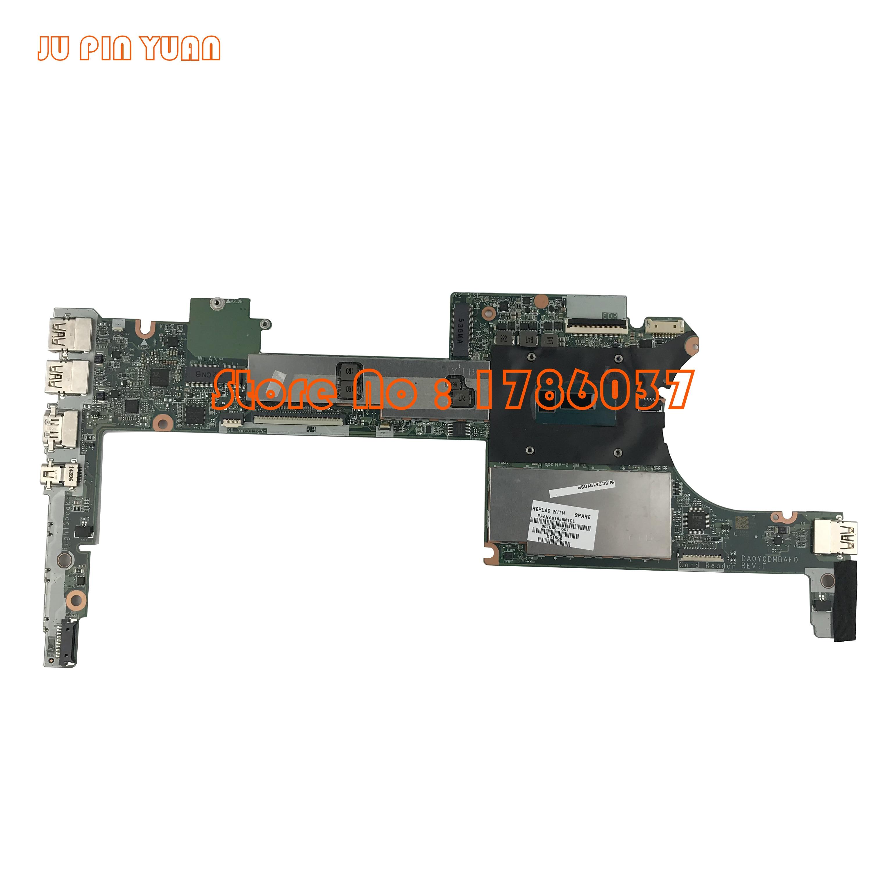 JU PIN YUAN 801505 501 801505 001 For HP Spectre X360 G1 13 4003DX Series Laptop