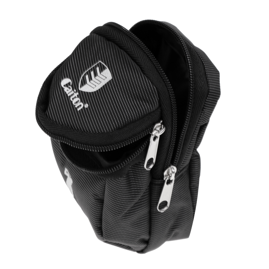 Black Mini Golf Ball Holder Pouch Bag Golf Kit Bag Portable And Durable Golf Ball Tools Accessories Holder Pouch