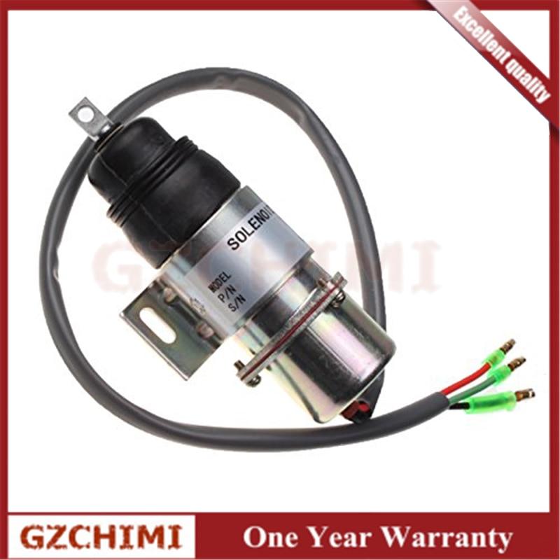 894453-3411  8-94453341-0 MV1-58  MV1-58 Stop Solenoid 12VDC For Hitachi Isuzu Engine 12VDC