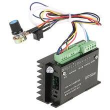 WS55 220 controlador do motorista do motor com cabo dc 48v 500w controlador sem escova do motorista do motor do eixo bldc do cnc