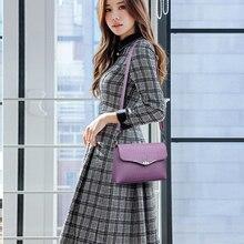 New Elegant Ladies Shoulder Bag High Quality Leather Small Envelope Clutch Designer Messenger Crossbody Bags For Women