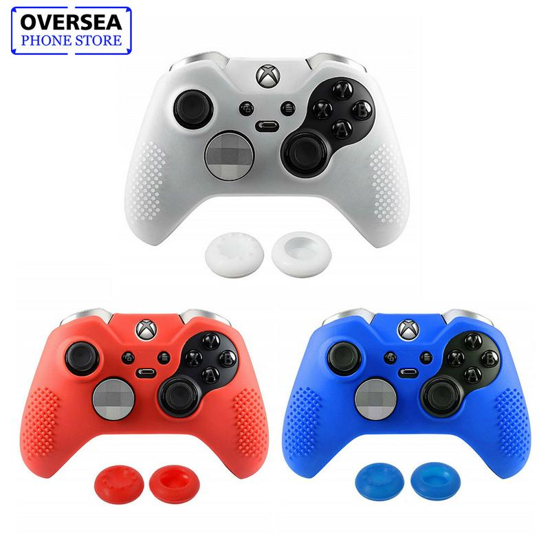Silicone Controller Cover Skins For Microsoft Xbox One Elite Case Cap Set Game Console Accessories