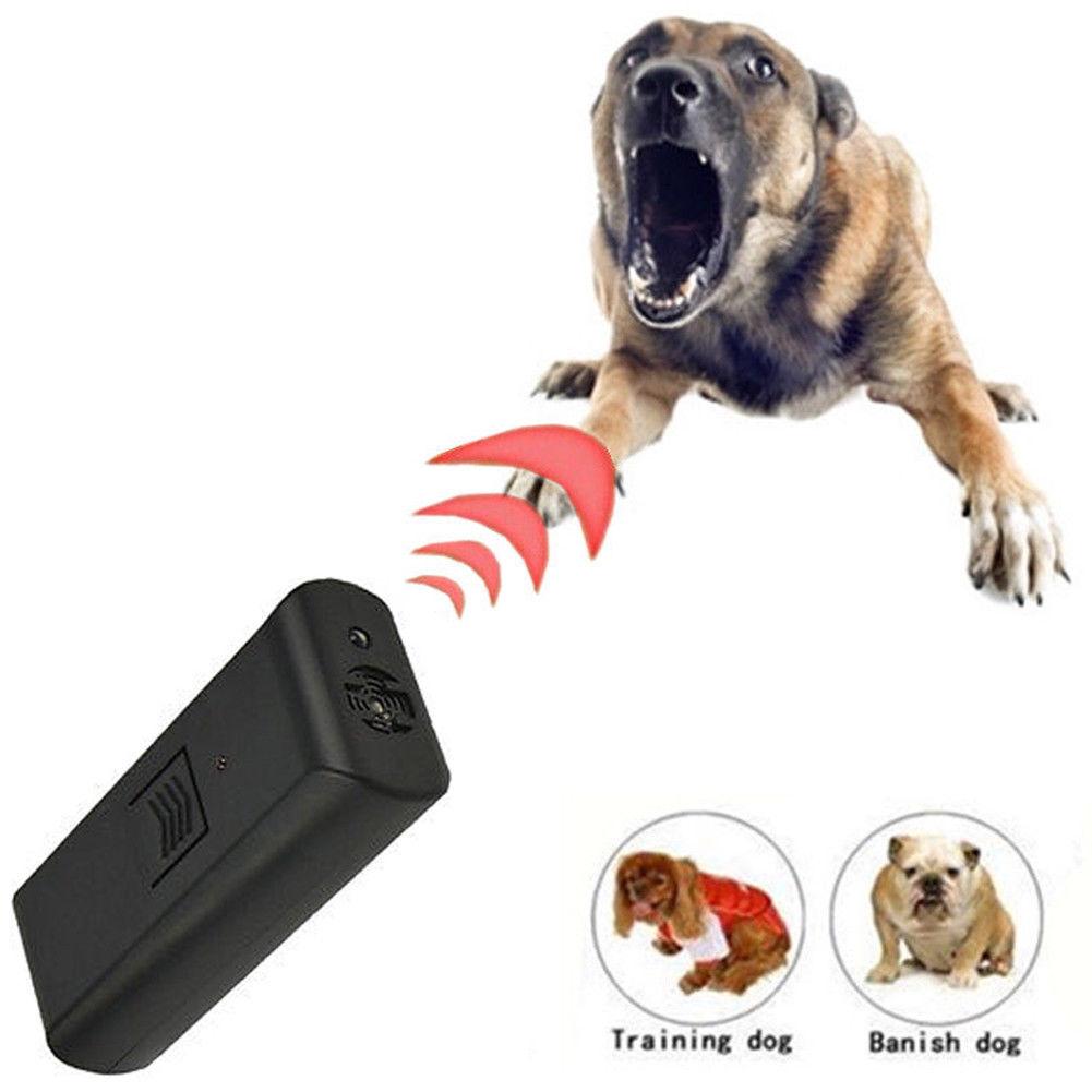 Wallfire Bark Stop Control Outdoor Indoor Ultrasonic Dog Pet Anti Barking Training Device Collar