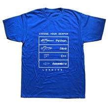 Funny Computer C Language Java Programmer T Shirt Men Short Sleeve O-Neck Cotton Java Developer Tshirt