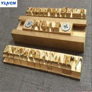 T slot moval Flexible Brass le