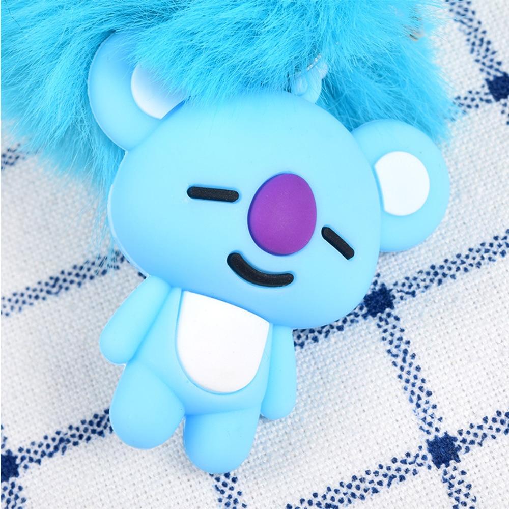 Toys & Hobbies Provided Kawaii Plush Keychain Bts Llavero Koala Tata Bts Chimmy Plush Toys Stuffed Cute Trinket Bts For Children Girl Soft Gifts Stuffed Animals & Plush