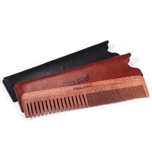 Для мужчин портативный Balsamo широкие и Тонкие зубы сочетание антистатические гребень для волос и бороды Расческа Щетка