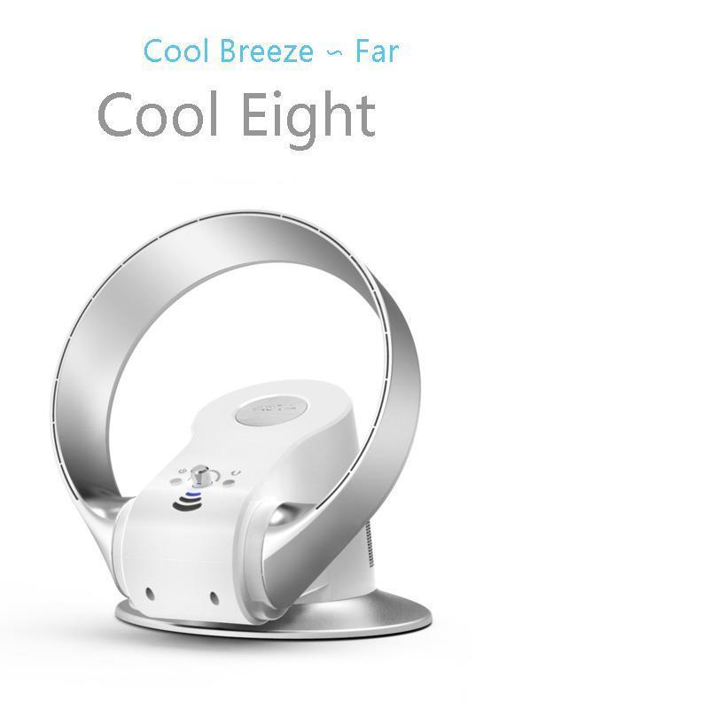 Air Cooler Fan Wall-mounted Desktop Multifunction Bladeless Fan Air Conditioner