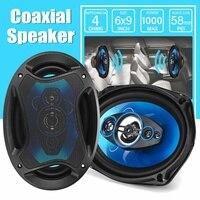 12V 1000W 6x9 inch 2 way Car Coaxial Speaker Auto Vehicle Audio HiFi Tweeter Loundspeaker Music Stereo Speakers Subwoofer