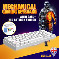 ANNE Pro2 Mini Portable Wireless bluetooth 60% Mechanical Keyboard Red Blue Brown Switch Gaming Keyboard Detachable Cable