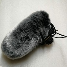 For RODE videomic pro+ VMP Voice Recording Pen Outdoor Wind Cover Shield Furry Windscreen Windshield Muff Microphones
