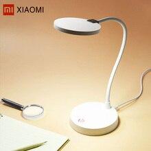 Xiaomi Mijia COOWOO U1 интеллектуальные светодио дный Настольная лампа с свет Сенсор Беспроводной глаз защиты Функция 100-240 В умный дом