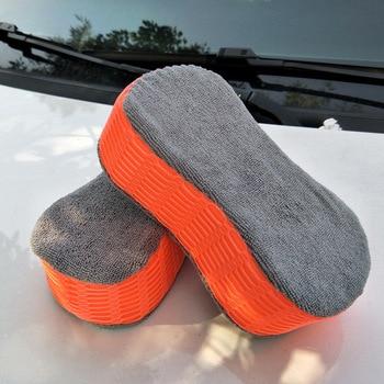 Car Wash Sponge Bone Design For Polishing Porous Car Motorcycle Washer Car Care Cleaning Brushes HM-S недорого