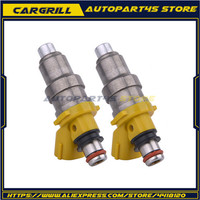 2X Supra 7MGE 1001 87650 700cc 3SGTE FUEL MR2 INJECTOR Celica FOR 7MGTE NEW for Toyota