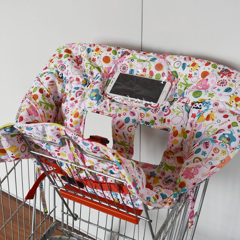 Детская игрушечная магазинная тележка Подушка к обеденному стулу подушка для стульев Защитная переносная магазинная тележка Подушка для стула