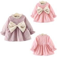 Newborn Kids Baby Dress Autumn Winter Princess Infant Girls
