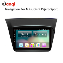For Mitsubishi Pajero Sport 2013-2017 9 inch Touch Screen 2G RAM Android 8.1 Car gps navigation built in wifi bluetooth