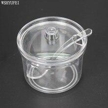 WSHYUFEI сахарница акриловая коробка банка для специй Приправа солонка горшок банки кухонные принадлежности