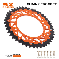 Motorcycle 42T 44T 47T 50T 51T 52T Rear Sprocket Chain For KTM EXC EXCF XC XCF XCW XCFW SX SXF SMR LC4 125 150 250 350 450 530