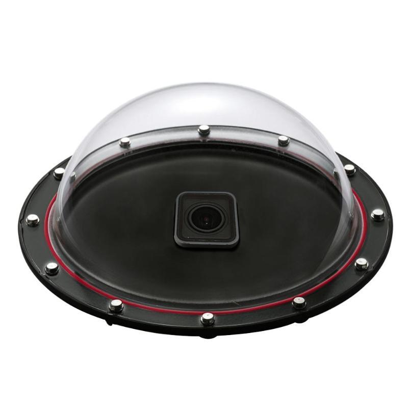 30 m Rond Boîtier Étanche Couverture Plongée Optique Capot Dôme + monopode portatif Bobber montage flottant pour Gopro Hero 5 caméra d'action