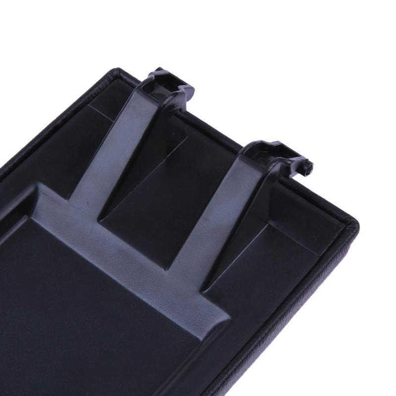 1Pc praktyczne szybki podłokietnik konsoli środkowej pokrywa zatrzask pokrywa czarny dla Skoda Octavia Fabia Roomster akcesoria samochodowe