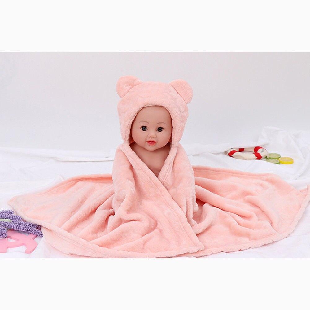 Baby Newborn Soft Fleece Blankets Boys Girls Swaddle Wrap Pram Sleeping Bag Gift