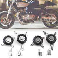 Motorcycle Racing Modifications Aluminum Alloy Engine Cover Sliders Crash Pad For Honda CB650F 2017 18 Modification