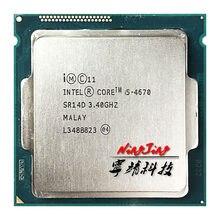 Intel Core i5-4670 i5 4670 3.4 GHz Dört Çekirdekli İşlemci 6M 84W LGA 1150