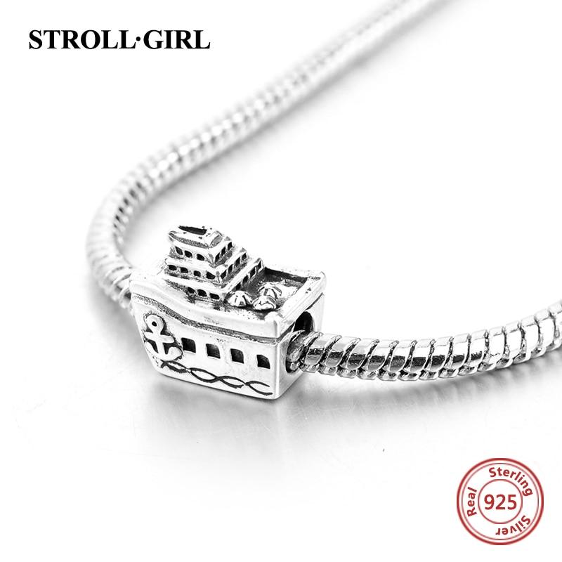 Passar till europeiska Charms Armband 925 Sterling Silver personliga - Märkessmycken - Foto 3