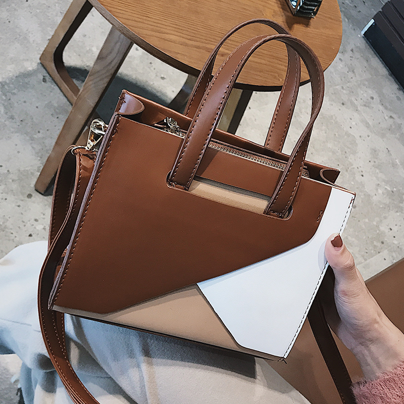 Ladies Handbags For Women Bags Designer Fashion Crossbody Luxury Bag Pu Leather Flap Shoulder Messenger Zipper Tote Clutch in Shoulder Bags from Luggage Bags
