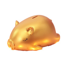 Lucky Big Gold Pig Piggy Bank Meng Birthday Gift New Year Creative To Send Children Not Bad Money Box Home Decor