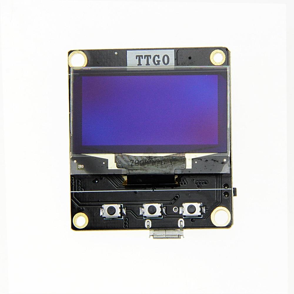 Ttgo To Esp8266 Oled Sh1106 1.3Inch Weather Station Wifi Meteo Module