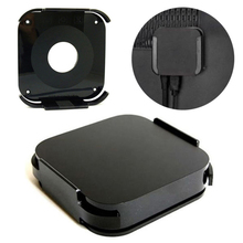 цена на New Universal Wall Mount Case Black Telvision Wall Mount Bracket Holder Stand Mounting Cradle Kit For Apple TV 2/3 Mayitr