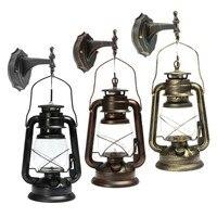 Rustic Antique Vintage Style E27 Retro Lantern Wall Lamp Sconce Light Fixture Aisle Balcony Home Decoration Wall Lamp