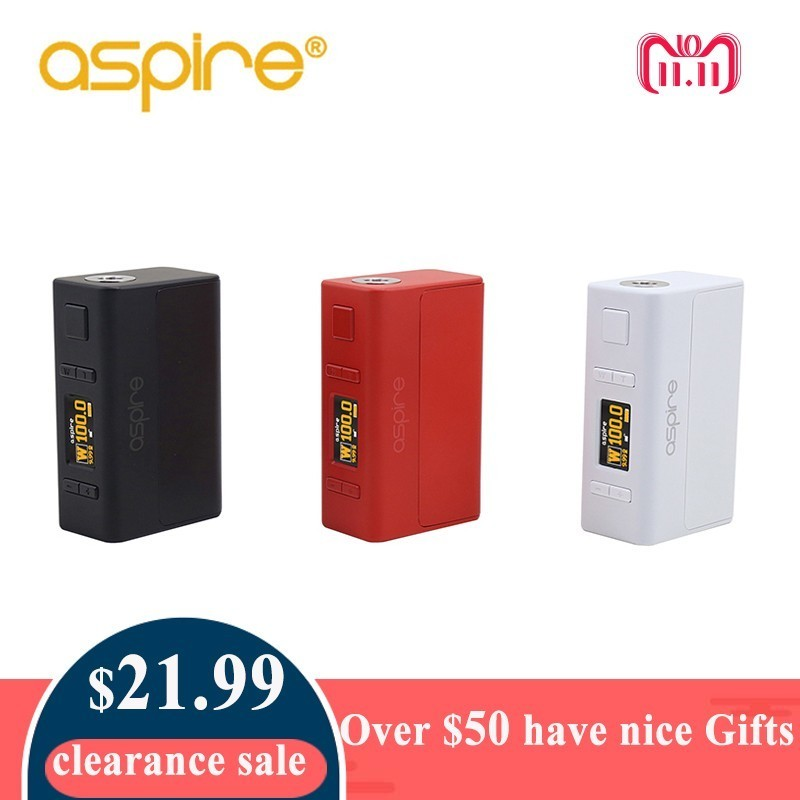 цена Electronic Cigarette Mod Aspire NX100 Mod 75W/100W TC Box Mod Compatible with 18650 Battery (Not Include)