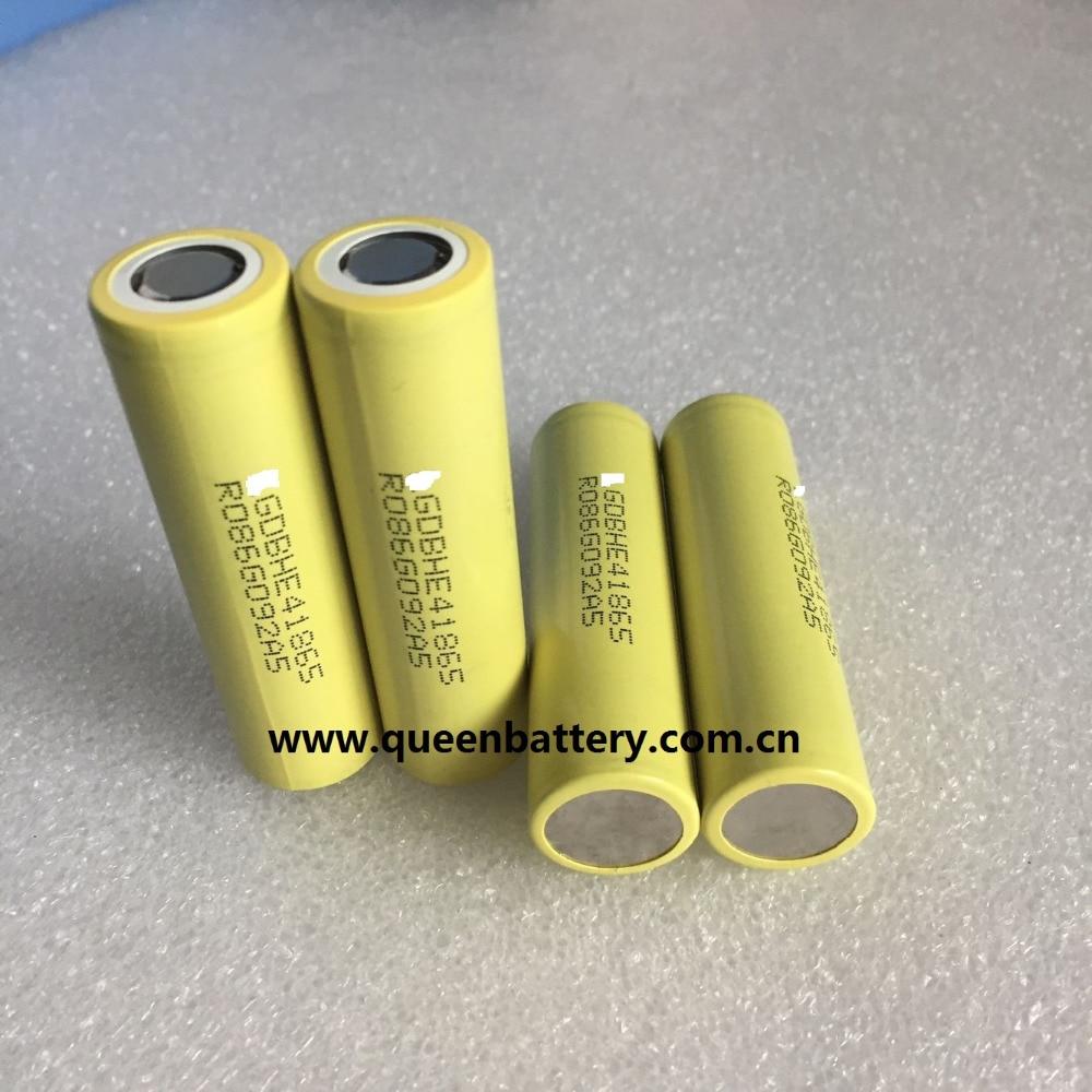 (50 Teile/los Fracht Frei) He4 E-cig Batterie 18650 Inr18650he4 2500 Mah 30a Modell Flugzeug Eders Uav Batterie E-roller Batterie Freigabepreis